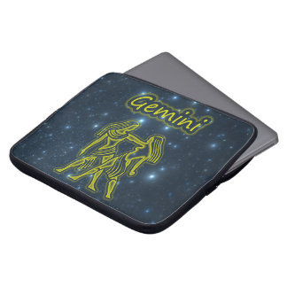 Bright Gemini Laptop Sleeve