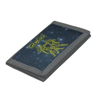Bright Gemini Trifold Wallets
