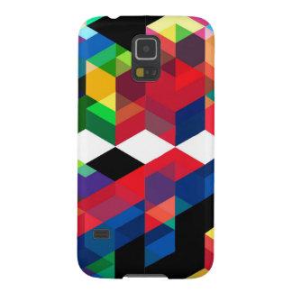 Bright Geometric Diamond Pattern Galaxy S5 Cover