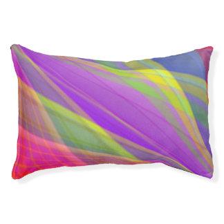 Bright Geometric Dog Bed