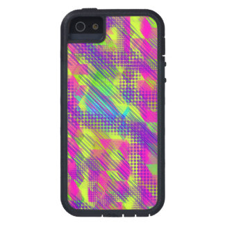 Bright geometric Tough Xtreme iPhone 5 Case