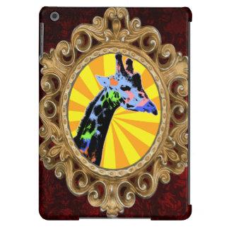 Bright Giraffe Pop Art Illustration, Colorful Case For iPad Air