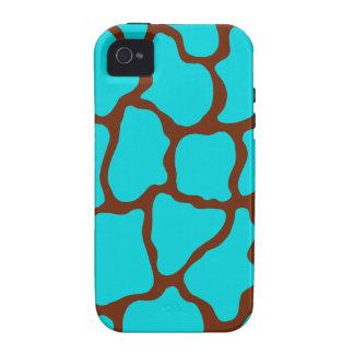 Bright Giraffe Print iPhone 4 Case Mate