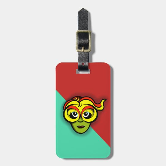 BRIGHT GODDESS by Slipperywindow Luggage Tag