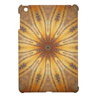 Bright Gold Ancient Mandala Design iPad Mini Case