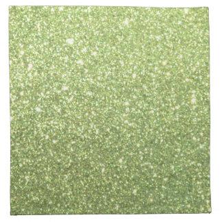 Bright Gold Glitter Sparkles Napkin
