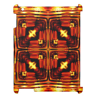 Bright golden waves iPad covers