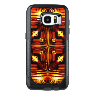 Bright golden waves OtterBox samsung galaxy s7 edge case