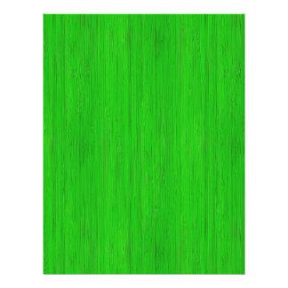 Bright Green Bamboo Wood Grain Look 21.5 Cm X 28 Cm Flyer