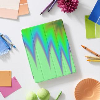 Bright Green Blue Peak iPad Cover