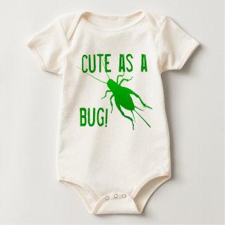 Bright Green Cricket Baby Bodysuit