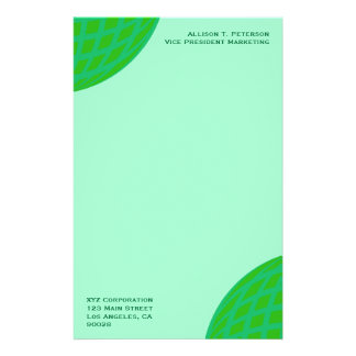 Bright Green Global Business Stationery Paper