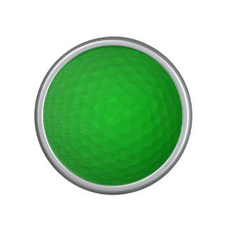 Bright Green Golf Ball Bluetooth Speaker
