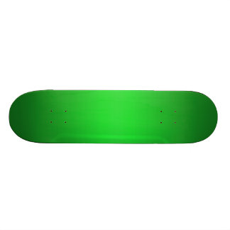 Bright Green Gradient - Emerald Greens Template B 20.6 Cm Skateboard Deck