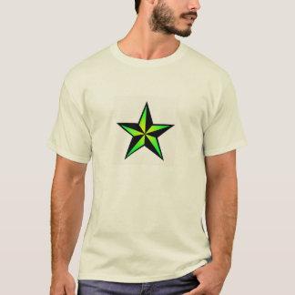 Bright Green Nautical Star T-Shirt