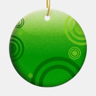 bright green ornament