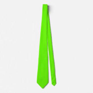 Bright Green Tie
