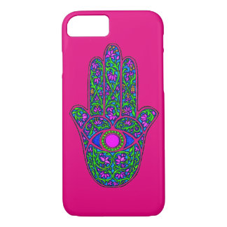 Bright Hamsa iPhone 7 Case