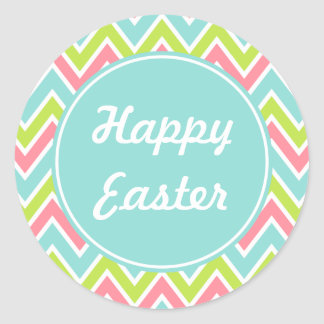Bright Happy Easter Holiday Stickers