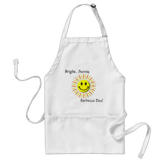 Bright Happy Smile - Smiley Face Standard Apron