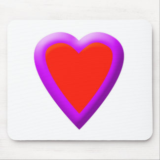 Bright Heart Mouse Pad