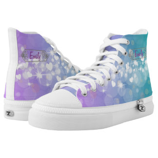 Bright hearts high tops