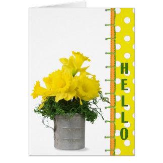 Bright Hello Card