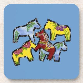 Bright Horses Coasters