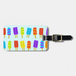 Bright Ice Lolly Luggage Tag