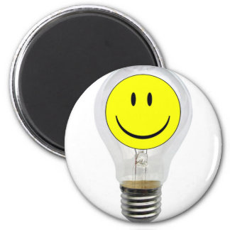 BRIGHT IDEA 6 CM ROUND MAGNET