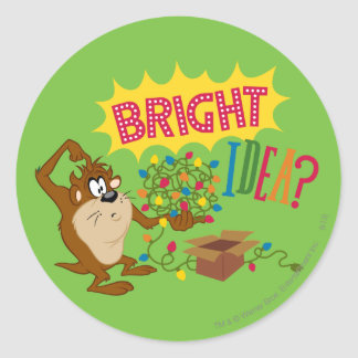 Bright Idea Classic Round Sticker