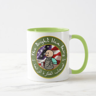Bright Idea Fairy / Baghdad Cigar Club Coffee Mug