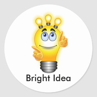 Bright Idea Sticker