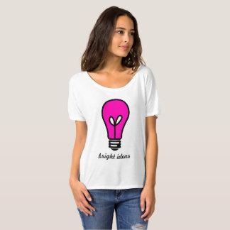 Bright Ideas Light Bulb Bella Slouchy Boyfriend T-Shirt