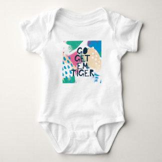 Bright Inspiration II   Go Get 'Em Tiger Baby Bodysuit