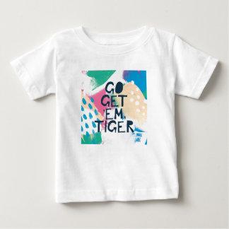 Bright Inspiration II   Go Get 'Em Tiger Baby T-Shirt