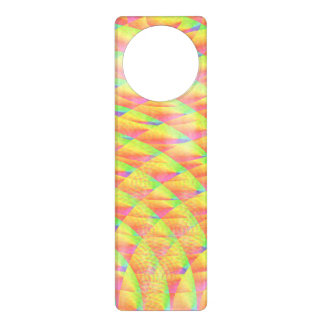 Bright Interference by Kenneth Yoncich Door Knob Hanger