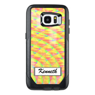 Bright Interference by Kenneth Yoncich OtterBox Samsung Galaxy S7 Edge Case