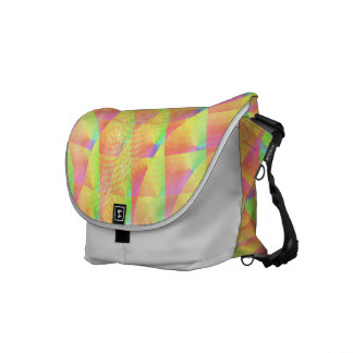 Bright Interference Commuter Bag