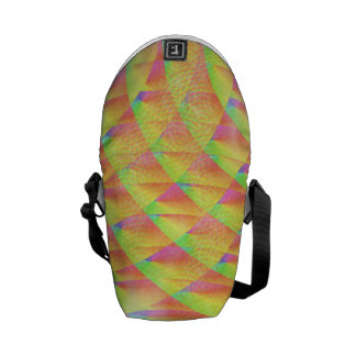 Bright Interference Messenger Bags