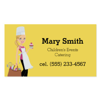 Bright Kids Events Party Planner Biz Card Business Card Templates