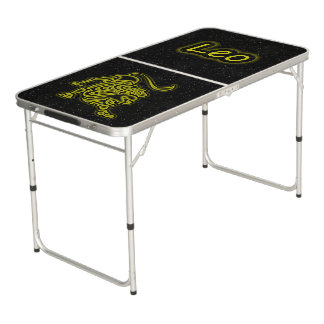 Bright Leo Beer Pong Table