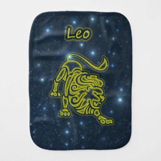 Bright Leo Burp Cloth