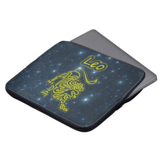 Bright Leo Laptop Sleeve