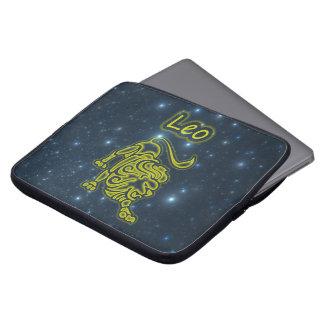 Bright Leo Laptop Sleeves