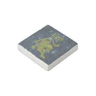 Bright Leo Stone Magnet