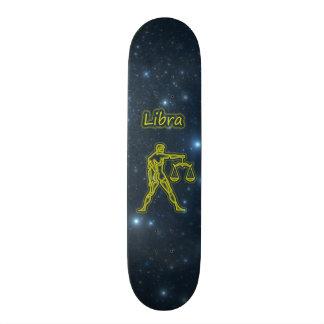 Bright Libra Custom Skate Board
