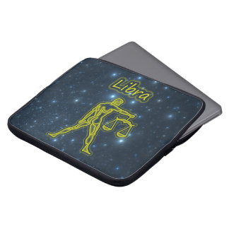 Bright Libra Laptop Sleeve