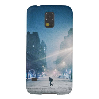 Bright Light On A Winter Night Galaxy S5 Covers