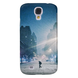 Bright Light On A Winter Night Samsung Galaxy S4 Cases